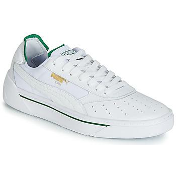 Obuća Muškarci  Niske tenisice Puma CALI.WH-AMAZON GREEN-WH Bijela / Zelena