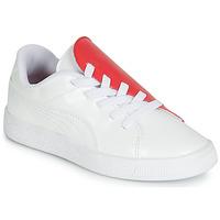 Obuća Djevojčica Niske tenisice Puma PS BKT CRUSH PATENT AC.W-H Bijela
