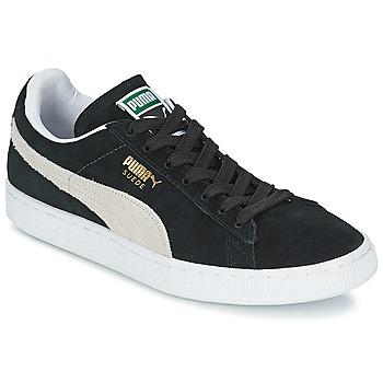 Obuća Niske tenisice Puma SUEDE CLASSIC + Crna / Bijela