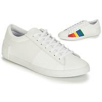 Obuća Žene  Niske tenisice Le Coq Sportif FLAG Bijela / Multicolour
