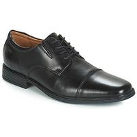 Obuća Muškarci  Derby cipele Clarks TILDEN CAP Crna