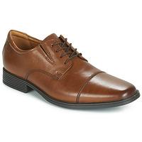 Obuća Muškarci  Derby cipele Clarks TILDEN CAP Smeđa