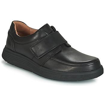 Obuća Muškarci  Derby cipele Clarks UN ABODE STRAP Crna
