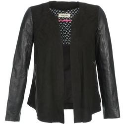 Odjeća Žene  Kožne i sintetičke jakne Naf Naf COCOTTE Crna