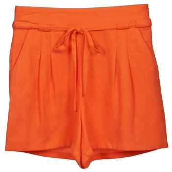Odjeća Žene  Bermude i kratke hlače Naf Naf KUIPI Narančasta