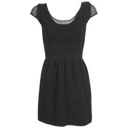 Odjeća Žene  Kratke haljine Naf Naf MANGUILLA Crna