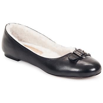 Obuća Žene  Balerinke i Mary Jane cipele Keyté ASTOR Crna