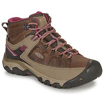 Obuća Žene  Pješaćenje i planinarenje Keen TARGHEE III MID WP Smeđa / Ružičasta