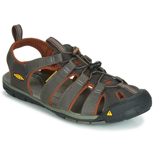 Obuća Muškarci  Sportske sandale Keen MEN CLEARWATER CNX Siva / Smeđa