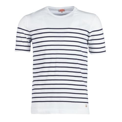Odjeća Muškarci  Majice kratkih rukava Armor Lux YAYALOUT Bijela