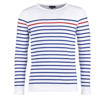 Odjeća Muškarci  Majice dugih rukava Armor Lux YAYAYOUT Bijela / Blue / Red