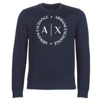 Odjeća Muškarci  Sportske majice Armani Exchange HERBARI Crna