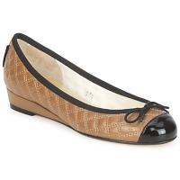Obuća Žene  Balerinke i Mary Jane cipele French Sole HENRIETTA Taupe