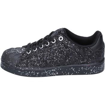 Obuća Djevojčica Niske tenisice Solo Soprani sneakers nero glitter BT294 Nero