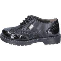 Obuća Djevojčica Derby cipele Solo Soprani classiche nero glitter pelle BT296 Nero