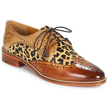 Obuća Žene  Derby cipele Melvin & Hamilton BETTY-4 Smeđa