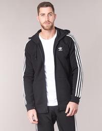 Odjeća Muškarci  Sportske majice adidas Originals 3 STRIPES FZ Crna