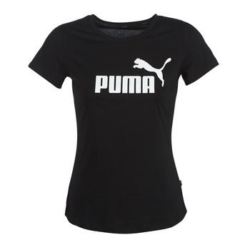 Odjeća Žene  Majice kratkih rukava Puma PERMA ESS TEE Crna