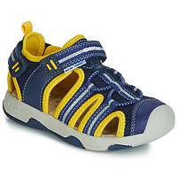 Obuća Dječak  Sandale i polusandale Geox B SANDAL MULTY BOY Blue / Žuta