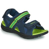 Obuća Dječak  Sportske sandale Geox J GLEEFUL BOY Blue / Žuta