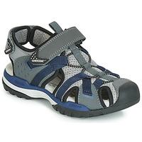 Obuća Dječak  Sportske sandale Geox J BOREALIS BOY Siva