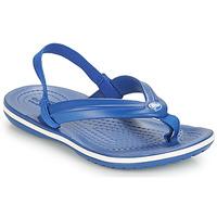 Obuća Djeca Sandale i polusandale Crocs CROCBAND STRAP FLIP K Blue