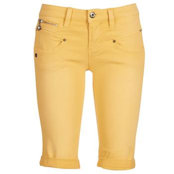 Odjeća Žene  Bermude i kratke hlače Freeman T.Porter Belixa New Magic Color Žuta