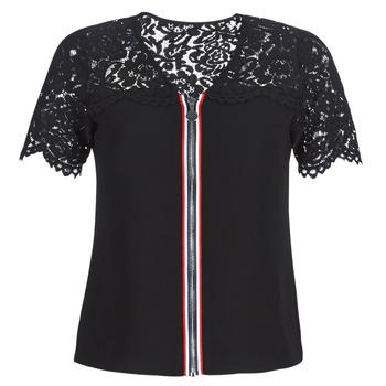 Odjeća Žene  Topovi i bluze Morgan OSALI Crna