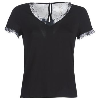 Odjeća Žene  Majice kratkih rukava Morgan DMINOL Crna