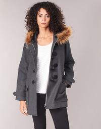 Odjeća Žene  Kaputi Casual Attitude HAIELL Siva