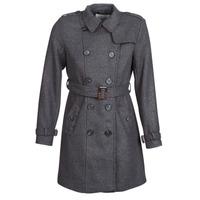 Odjeća Žene  Kaputi Casual Attitude HAIELLI Siva