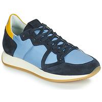 Obuća Žene  Niske tenisice Philippe Model MONACO VINTAGE BASIC Blue / Žuta