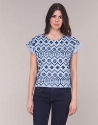 Odjeća Žene  Topovi i bluze Molly Bracken MOLLIUTE Blue