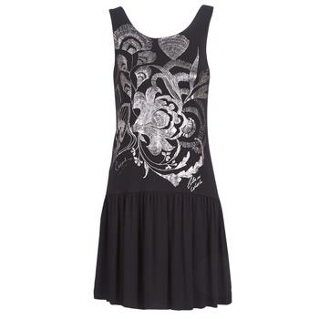 Odjeća Žene  Kratke haljine Desigual OMAHAS Crna