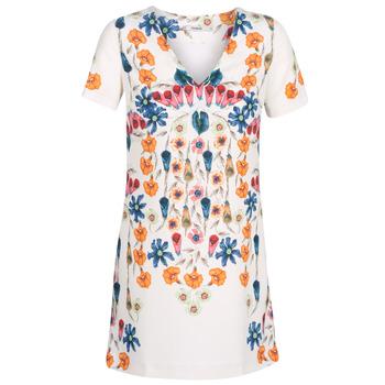 Odjeća Žene  Kratke haljine Desigual CORK Bijela