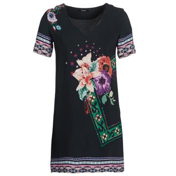 Odjeća Žene  Kratke haljine Desigual BARTA Crna