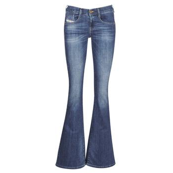 Odjeća Žene  Bootcut traperice Diesel EBBEY Blue / 089am