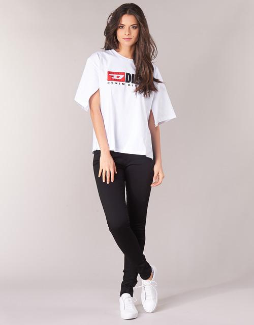 Odjeća Žene  Skinny traperice Diesel SLANDY Crna / 069ef