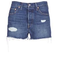Odjeća Žene  Bermude i kratke hlače Levi's 502 HIGH RISE SHORT Blue