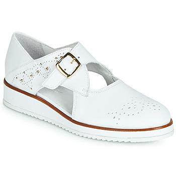 Obuća Žene  Derby cipele Regard RIXALO V1 NAPPA BLANC Bijela