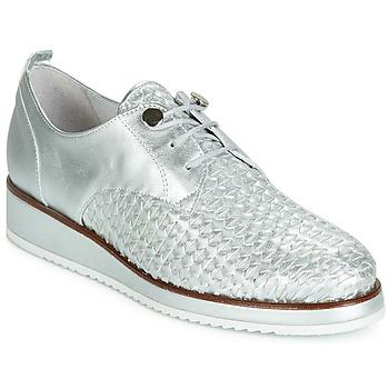 Obuća Žene  Derby cipele Regard RIXIZA V2 TRES METALCRIS PLATA Srebrna