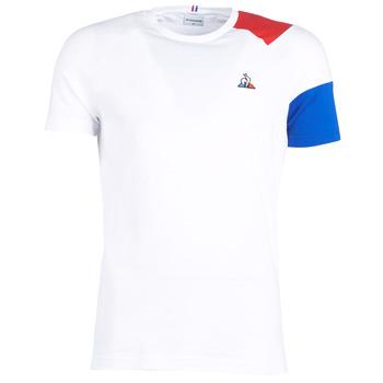 Odjeća Muškarci  Majice kratkih rukava Le Coq Sportif ESS Tee SS N°10 M Bijela / Red / Blue