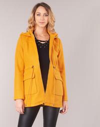 Odjeća Žene  Kaputi Moony Mood JANTO Žuta