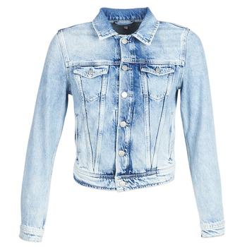 Odjeća Žene  Traper jakne Pepe jeans CORE Blue / Svijetla / Md0