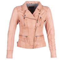 Odjeća Žene  Kožne i sintetičke jakne Oakwood CAMERA Boja breskve