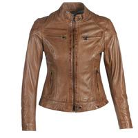 Odjeća Žene  Kožne i sintetičke jakne Oakwood LINA Boja konjaka