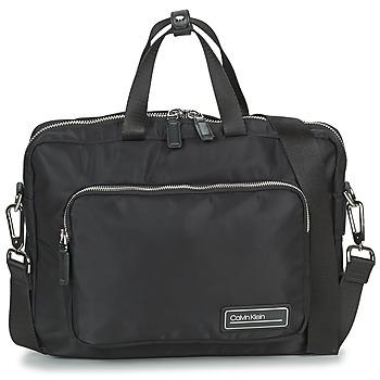 Torbe Muškarci  Poslovne torbe i aktovke Calvin Klein Jeans PRIMARY 1 GUSSET LAPTOP BAG Crna