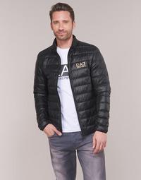 Odjeća Muškarci  Pernate jakne Emporio Armani EA7 TRAIN CORE ID DOWN LT Crna / Gold