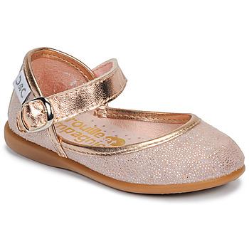 Obuća Djevojčica Balerinke i Mary Jane cipele Citrouille et Compagnie JARITO Ružičasta / Brončana