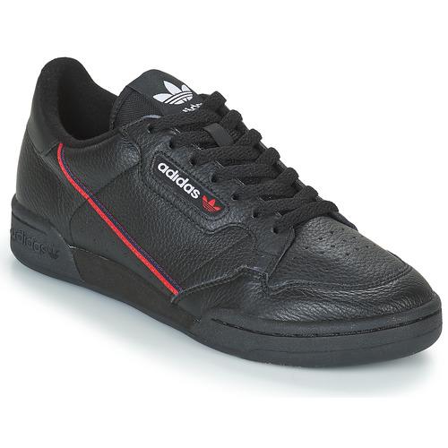 Obuća Niske tenisice adidas Originals CONTINENTAL 80 Crna